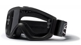 Smith Optics Option OTG Turbo Snow Goggles Goggles - Black Clear AFC W/ Extra Yellow Dual Airflow Lens