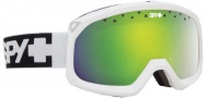 Spy Optic Trevor Goggles  Goggles - Matte White / Yellow with Green Spectra