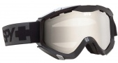 Spy Optic Zed Goggles Goggles - Black AF Foam / Bronze with Silver Mirror and Persimmon