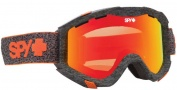 Spy Optic Zed Goggles Goggles - Neon Orange / Bronze with Red Spectra