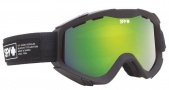 Spy Optic Zed Goggles Goggles - Black Nocturnal / Yellow with Green Spectra + Bronze