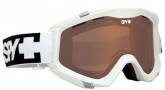 Spy Optic Zed Goggles Goggles - White / Bronze + Persimmon