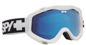 Spy Optic Zed Goggles Goggles - White / Persimmon Contact