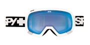 Spy Optic Platoon - Persimmon Lenses Goggles - White / Persimmon Contact