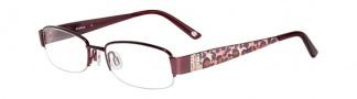 Bebe BB5028 Eyeglasses Eyeglasses - Burgundy
