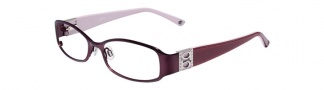 Bebe BB5026 Eyeglasses Eyeglasses - Plum Purple