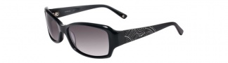 Bebe BB7049 Sunglasses Sunglasses - Jet / Grey Gradient