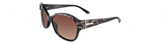 Bebe BB7039 Sunglasses Sunglasses - Brown Marble / Brown Gradient