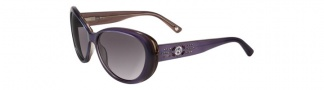Bebe BB7037 Sunglasses Sunglasses - Amethyst / Gray Gradient
