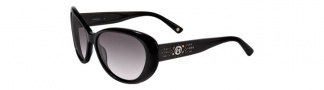 Bebe BB7037 Sunglasses Sunglasses - Jet / Grey Gradient