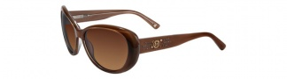 Bebe BB7037 Sunglasses Sunglasses - Smoked Topaz / Brown Gradient