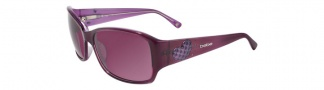 Bebe BB7036 Sunglasses Sunglasses - Plum / Plum Gradient