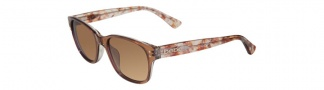 Bebe BB7035 Sunglasses Sunglasses - Topaz / Brown Gradient