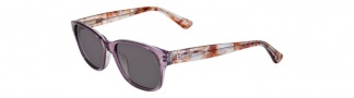 Bebe BB7035 Sunglasses Sunglasses - Violet / Grey Gradient