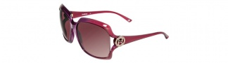 Bebe BB7034 Sunglasses Sunglasses - Fuschia / Brown Gradient