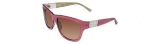 Bebe BB7027 Sunglasses Sunglasses - Blush / Brown Gradient