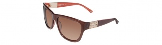 Bebe BB7027 Sunglasses Sunglasses - Chestnut / Brown Gradient