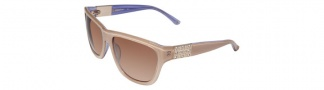 Bebe BB7027 Sunglasses Sunglasses - Linen / Brown Gradient