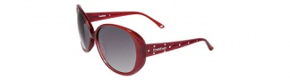Bebe BB7026 Sunglasses Sunglasses - Ruby / Grey Gradient