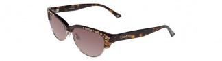 Bebe BB7025 Sunglasses Sunglasses - Tortoise / Brown Gradient