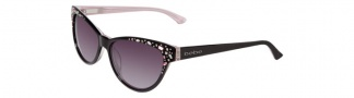 Bebe BB7024 Sunglasses Sunglasses - Black Rose / Grey Gradient