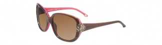 Tommy Bahama TB7013 Sunglasses Sunglasses - Havana Rose / Brown Polarized