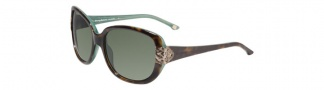 Tommy Bahama TB7013 Sunglasses Sunglasses - Tortoise Green / Green Polarized
