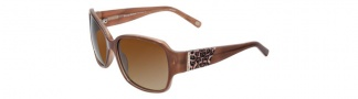 Tommy Bahama TB7008 Sunglasses Sunglasses - Caramel / Brown Gradient Polarized