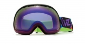 Von Zipper Fishbowl Goggles Goggles - PUR  Purple Erkel - Smokeout