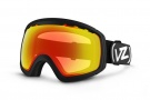Von Zipper Feenom Goggles Goggles - Black Gloss / Clear Chrome Orange