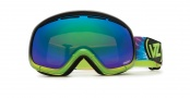 Von Zipper Skylab Goggles Goggles - LIM  Lights out Lime - Smokeout