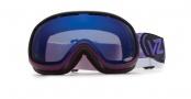 Von Zipper Chakra Goggles Goggles - PUR Purple Erkel - Smokeout