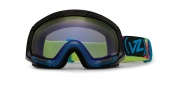 Von Zipper Smokeout Goggles Goggles - Feenom - Bogglegum Blue
