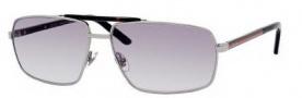 Gucci 2202/S Sunglasses Sunglasses - 0BGY Ruthenium (N3 Gray Gradient Lens)