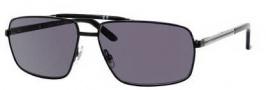 Gucci 2202/S Sunglasses Sunglasses - 0BKS Shiny Black (3H Smoke Polarized Lens)