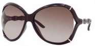 Gucci 3509/S Sunglasses Sunglasses - 06Q7 Aubergine (J6 Brown Gradient Lens)