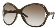 Gucci 3509/S Sunglasses Sunglasses - 0WO5 Khaki (DB Brown Gray Gradient Lens)