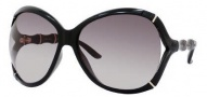 Gucci 3509/S Sunglasses Sunglasses - 0D28 Shiny Black (HA Brown Gradient Lens)