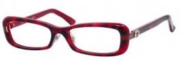 Gucci GG 3529/U/F Eyeglasses Eyeglasses - 0YTX Havana Red