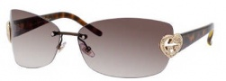 Gucci 4201/S Sunglasses Sunglasses - 0DSN Shiny Brown Havana (CC Brown Gradient Lens)