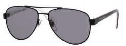 Gucci 5501/C/S Sunglasses Sunglasses - 0WQV Black Red White (BN Dark Gray Lens)