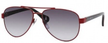 Gucci 5501/C/S Sunglasses Sunglasses - 0WQT Red Black Green (PT Gray Gradient Lens)
