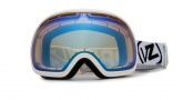 Von Zipper Project Flatlight Goggles Goggles - White Yellow - Fishbowl