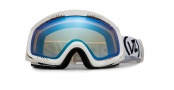 Von Zipper Project Flatlight Goggles Goggles - White Chrome - Feenom