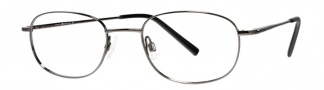 Joseph Abboud JA107 Eyeglasses Eyeglasses - Dark Gunmetal
