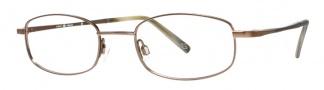Joseph Abboud JA143 Eyeglasses Eyeglasses - Matte Brown