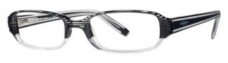 Joseph Abboud JA156 Eyeglasses Eyeglasses - Black Pinstripes