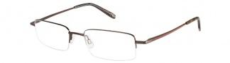 Joseph Abboud JA173 Eyeglasses Eyeglasses - Chestnut