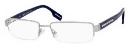 Hugo Boss 0310 Eyeglasses Eyeglasses - 0PJC Matte Silver / Blue