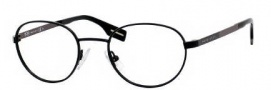 Hugo Boss 0312 Eyeglasses Eyeglasses - 0AAB Black Matte Dark Ruthenium
